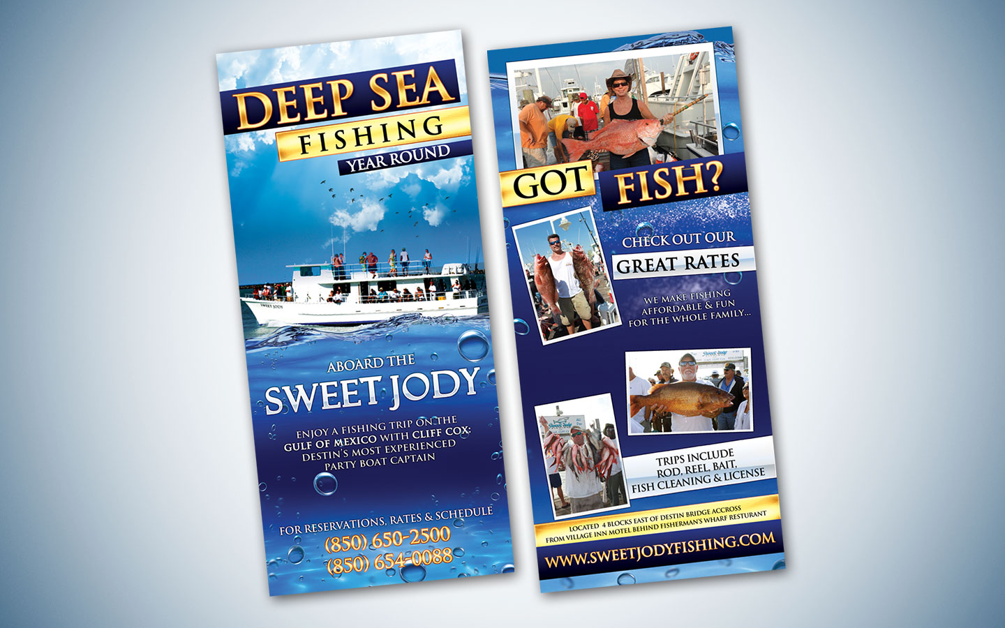 Sweet jody conquer creative consulting design brand for Sweet jody fishing